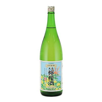 中国醸造 《週末限定タイムセール》 定番 広島県 大長 おおちょう れもんしゅ 檸檬酒 1800ml