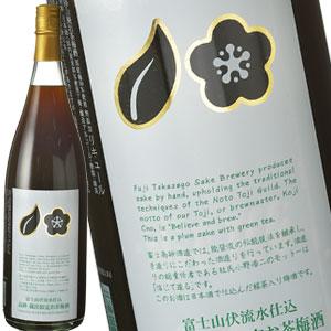 富士高砂酒造/梅酒/緑茶/蔵出限定 富士高砂酒造 蔵出限定梅酒緑茶入り 1800ml