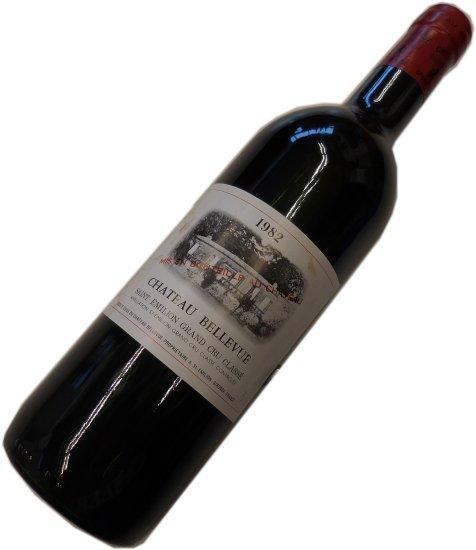 昭和57年の誕生年ワイン 1982年 シャトー・ベルヴュー  箱入りギフトラッピング [1982] Chateau Bellevue サンテミリオン・グランクリュクラッセ