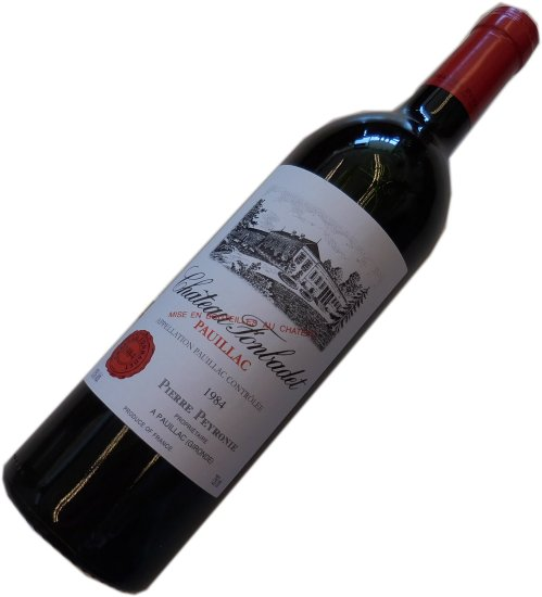 昭和59年の誕生年ワイン 1984年 シャトー フォンバデ 箱入りギフトラッピング [1984] Chateau Fonbadet AOC ポイヤック