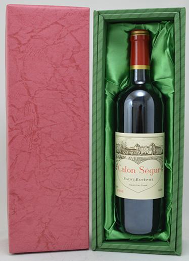 *【送料及びクール代金無料】シャトー・カロン・セギュール [2006] 赤 750ml【緑ギフトBOX入】Chateau Calon Segur 2006