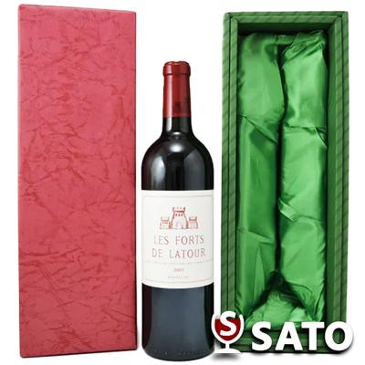 *レ・フォール・ド・ラトゥール [2005] 赤 750mlLes Forts de Latour 2005【クール便】【緑ギフトボックス入】