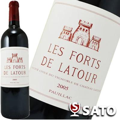 *【クール便】レ・フォール・ド・ラトゥール [2005] 赤 750mlLes Forts de Latour 2005