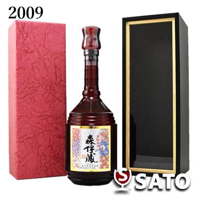森伊蔵 楽酔喜酒 2009年長期熟成酒 25度 600ml【木箱(化粧箱)入】 包装済み
