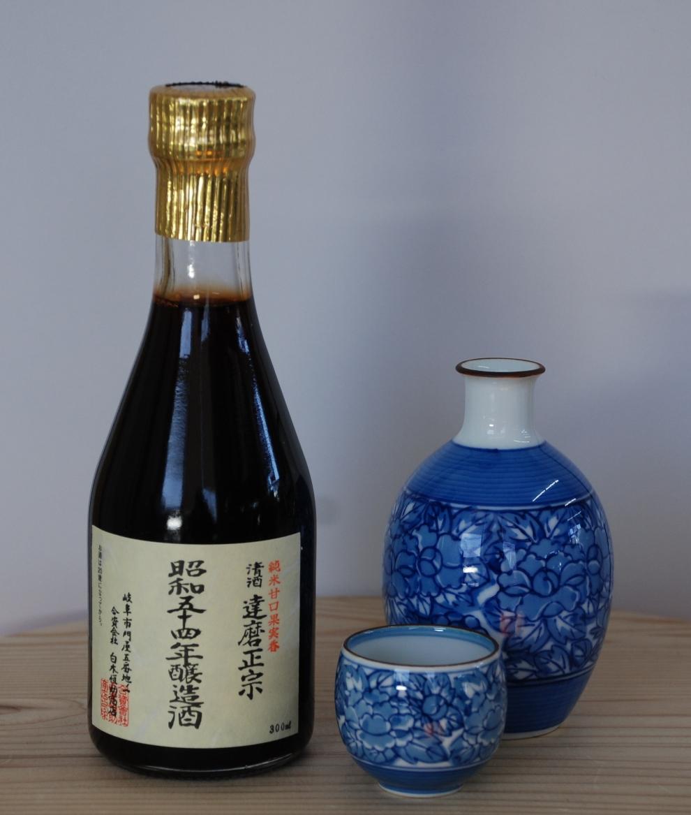 達磨正宗 1979年(昭和54年BY)純米甘口 300ml 古酒 熟成酒 父の日 プレゼント
