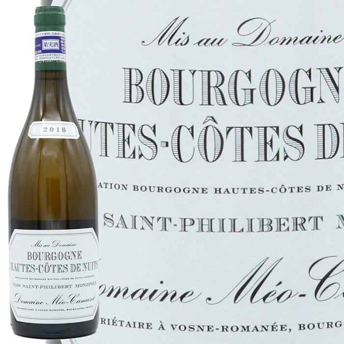 メオ カミュゼが単独所有するモノポールの白ワイン ドメーヌ カミュゼブルゴーニュ オート コート 毎日続々入荷 在庫一掃売り切りセール ド フィリベール ブラン サン モノポール ニュイクロ 2016