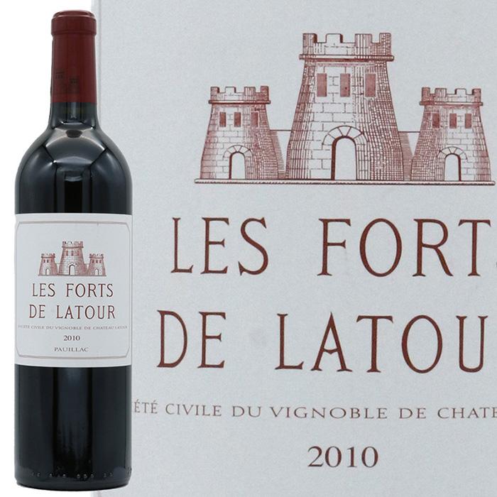 様々なセカンドワインと比較しても頭一つ飛び抜けた ボルドー格付第一級のシャトー ラトゥールのセカンドワイン 特売 レ ラトゥール フォール メーカー在庫限り品 2010 ド