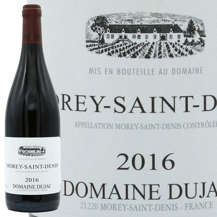 特価キャンペーン デュジャックを知るなら まずこれからというべきワインです デュジャックモレ 人気上昇中 サン ドニ ルージュ 2016
