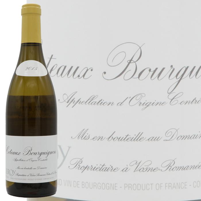 マダム ルロワがギャランティ タイムセール 保証 した蔵出し直輸入ワイン 黄色キャップ 正規品 2015 店舗 ルロワコトー ドメーヌ ブルギニヨン 白