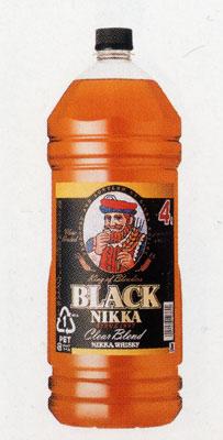 ブラックニッカ クリアブレンド 4L×4本