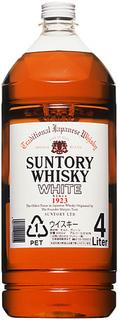 サントリーウイスキー ホワイト 4Lペット×4本