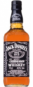 700 ml of Jack Daniel's black 40 degrees