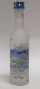Grey Goose vodka miniature 50 ml