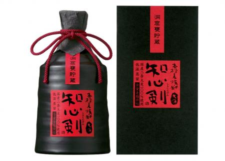 Authentic Mugi shochu know mind sword (wonder if need) cave jar storage 720 ml ceramic pieces