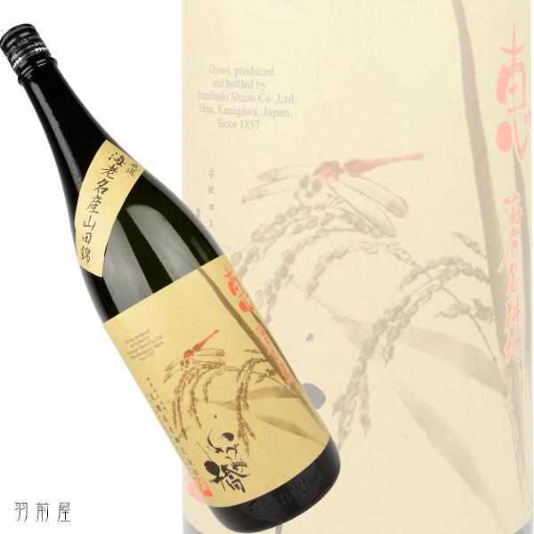当地的生产的酒米100%蕴酿的栽培酿造仓库! 神奈川的地方酒izumi桥惠海老名耕地正宗美国酒720ml