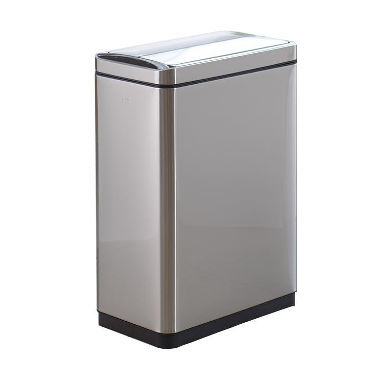 ごみ箱 蓋付 30L 大容量 センサー付き 自動開閉 シルバー EKO ダストボックス ゴミ箱 ステンレス リビング ダイニング 洗面所 ふた 清潔 おしゃれ シンプル EK9287MT デラックスファントムMT(Web限定)