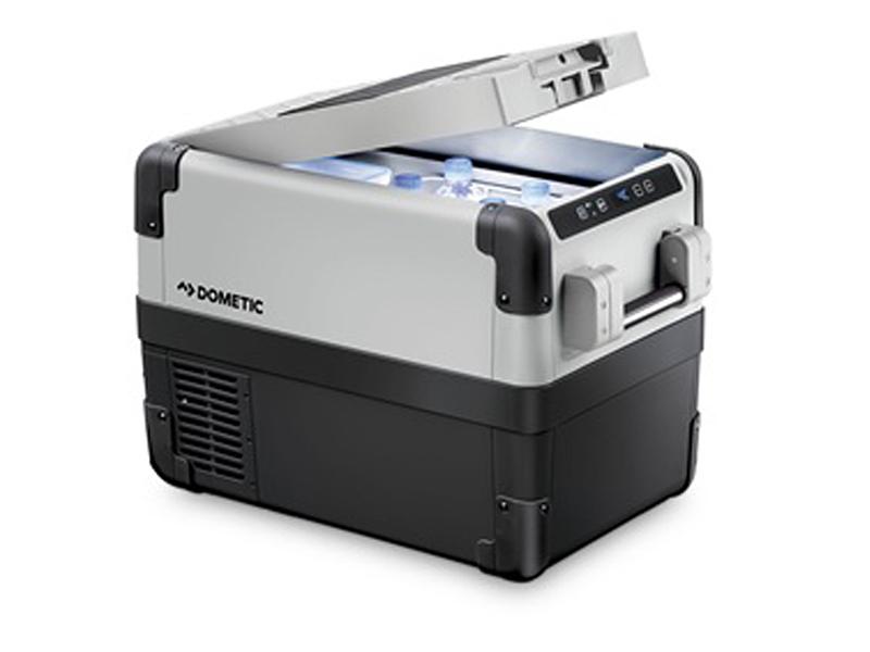 ポータブル 2way コンプレッサー 冷凍庫 冷蔵庫 DOMETIC CFX28 ペイルグレー ダークグレー 送料無料 キャンプ アウトドア グランピング トレッキング SAKODA サコダ (Web限定) KZ TS