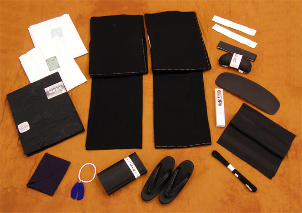 イージーオーダー黒紋付セット喪服セット・紋付セット 夏冬セット全て揃ったお値打ちセット