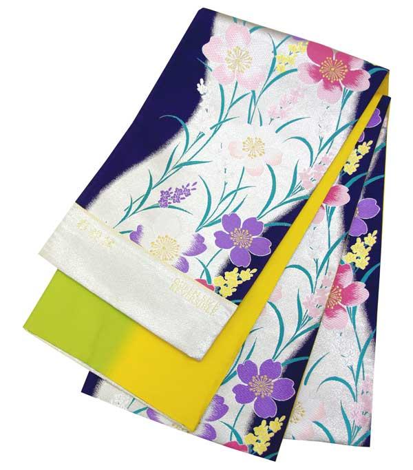 西陣高級袋帯 西陣織工業組合品質表示証紙No.2294