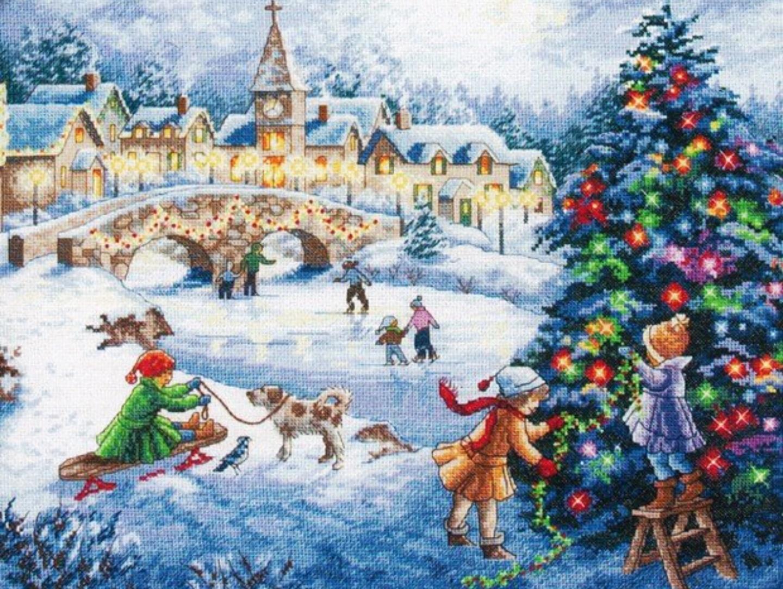 豪華 ディメンションズ ゴールドコレクション 上級者 輸入 刺繍キット クロスステッチキット クリスマス Dimensions スーパーセール 冬 ウインターシーズン Winter アメリカ Celebration クリスマスツリー 送料無料 いよいよ人気ブランド