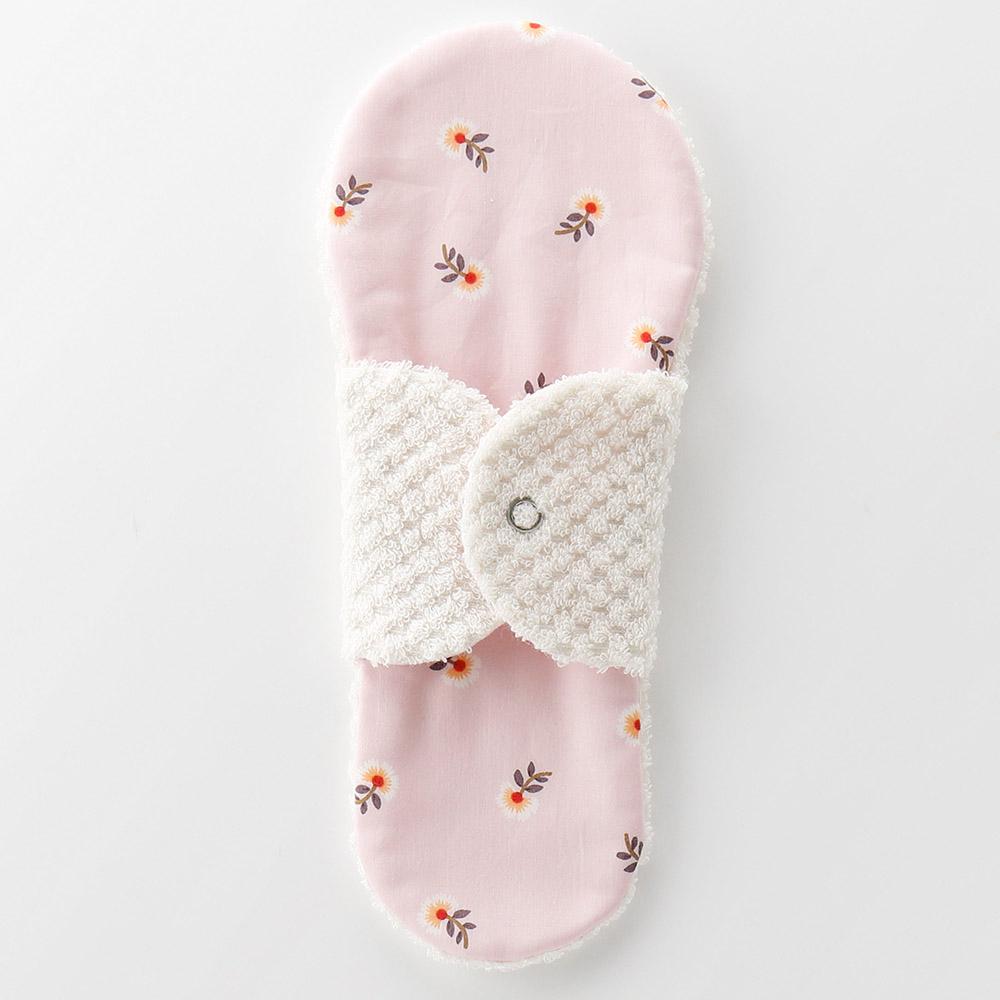 布ナプキン型 ヒエトリパット Silk《シルク オーガニック》 リトルフラワー ピンク ほわっとしてあたたかい 本日の目玉 冷えとりライナー 商品 タオル 1番人気のロングセラー 今治 肌に触れるタオルが