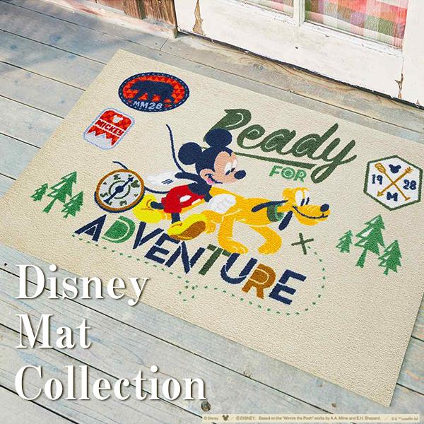 ディズニーマットコレクション Disney Mat Collection 玄関マット 洗える 滑り止め クリーンテックス wash+dry 強力 滑り止め 屋外 室内 75×120cm