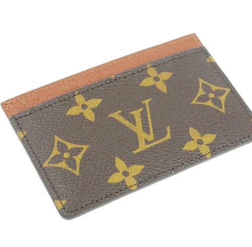 ルイヴィトン モノグラム 名刺ケース カードケースM61733【新品】【未使用品】
