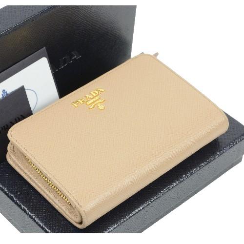 プラダ 財布 二つ折り財布 1ML225 【美品】【送料無料】