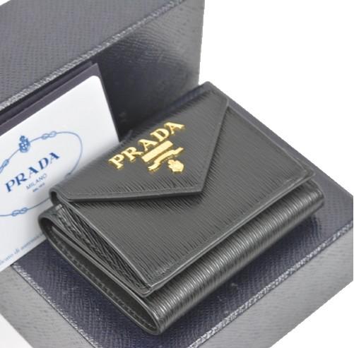 プラダ 1MH021 財布 コンパクト ミニウォレット 【新品】【送料無料】