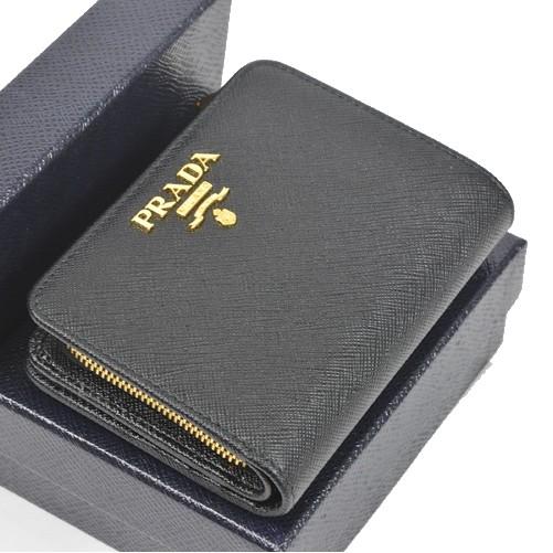 プラダ1ML018 財布 二つ折り L字ファスナー 【新品】【送料無料】