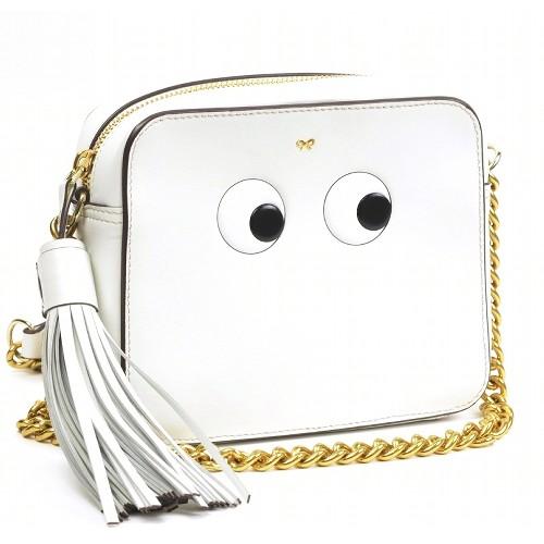 アニヤハインドマーチ ショルダーバッグ クロスボディ EYES Eyes Crossbody Bag 【美品】【送料無料】