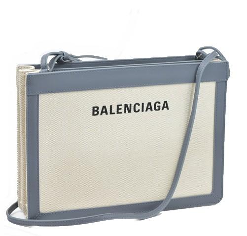 バレンシアガ バッグ ネイビーポシェット 【新品】【未使用品】【送料無料】