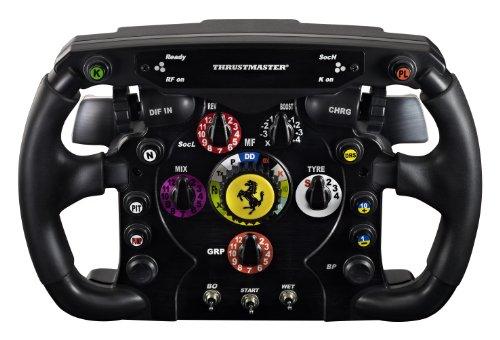 Thrustmaster ジョイスティック Ferrari F1 Wheel Add-On(PC / PS3 / Xbox One / PS4) ステアリングホイール ゲームコントローラ KB343 4160571