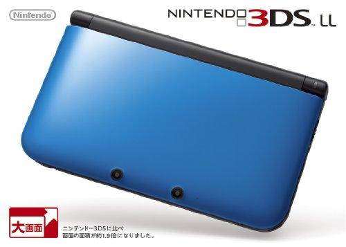 ニンテンドー3DS 国内正規総代理店アイテム LL クリアランスsale 期間限定 メーカー生産終了 ブルーXブラック
