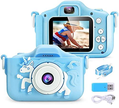 2021新しい 子供用 カメラ Poulep 人気 子ども用 デジタルカメラ トイ 防水 日本語取扱説明書が付属 最安値に挑戦 自撮可能 誕生日プレゼント 知育 訳あり 女の子 1080P 4000万画素 男の子 教育