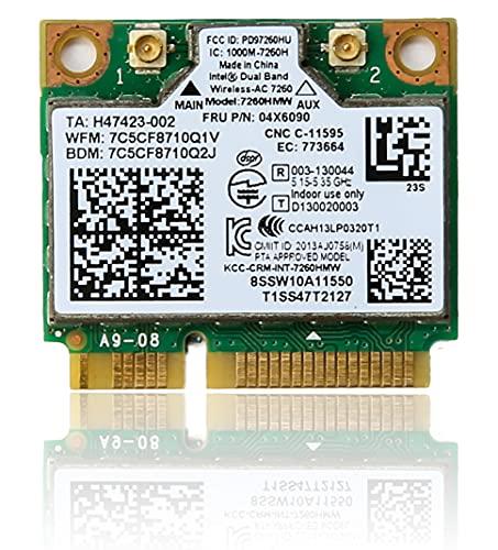 IBM 選択 Lenovo PC専用 Intel ファッション通販 Wireless-AC 7260 無線LAN 7260HMW ネットワークカード WiFi 並行輸入品