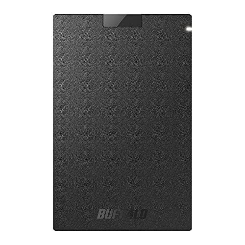 バッファロー SSD 外付け 500GB USB3.2Gen1 2020 新作 ポータブル コンパクト PS5 PS4対応 ブラック メーカー動作確認済 安値 N SSD-PG500U3-BC