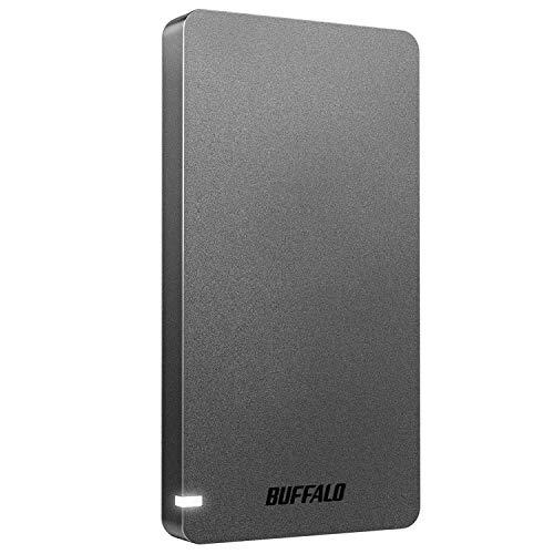 バッファロー 超激得SALE SSD 外付け 500GB USB3.2Gen2 (訳ありセール 格安) 530MB S ポータブル メーカー動作確認済 PS5 N PS4対応 ブラック コンパクト SSD-PGM500U3BC