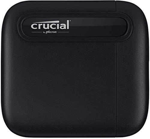 Crucial X6 外付け SSD 500GB PS5 PS4 CT500X6SSD9 当店一番人気 USB 正規代理店保証品 Type-C 秒 動作確認済み 最大読込速度540MB 送料無料カード決済可能