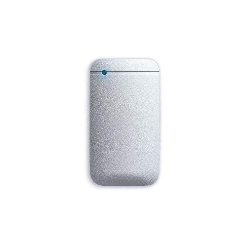 エレコム ポータブルSSD 500GB USB3.2 予約販売 Gen1 お得セット シルバー データ復旧サービスLite付 ESD-EF0500GSVR USB-Cケーブル付属