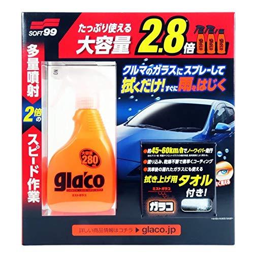 キャンペーンもお見逃しなく ソフト99 新色追加して再販 ミストガラコ大容量 280ml