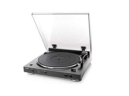 <title>デノン ショッピング Denon DP-200USB アナログレコードプレーヤー フォノイコライザー付 フルオート カートリッジ付属 ブラック DP-200USBK</title>