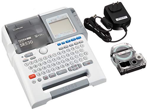 キングジム ラベルライター テプラPRO SR530  テープカートリッジ テプラPRO 12mm ST12K 透明