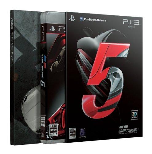 送料無料 激安 お買い得 キ゛フト グランツーリスモ 5 大注目 初回生産版:特製ブックレットプレゼントカー5種ダウンロードプロダクトコード同梱 - PS3