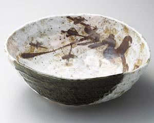 老松 31cm深鉢日本製 盛り付けのうつわお惣菜の盛り合わせ 炊きもの 煮物 おばんざいの盛り付けに大振りの大皿 大鉢 盛り皿 深皿 煮物鉢