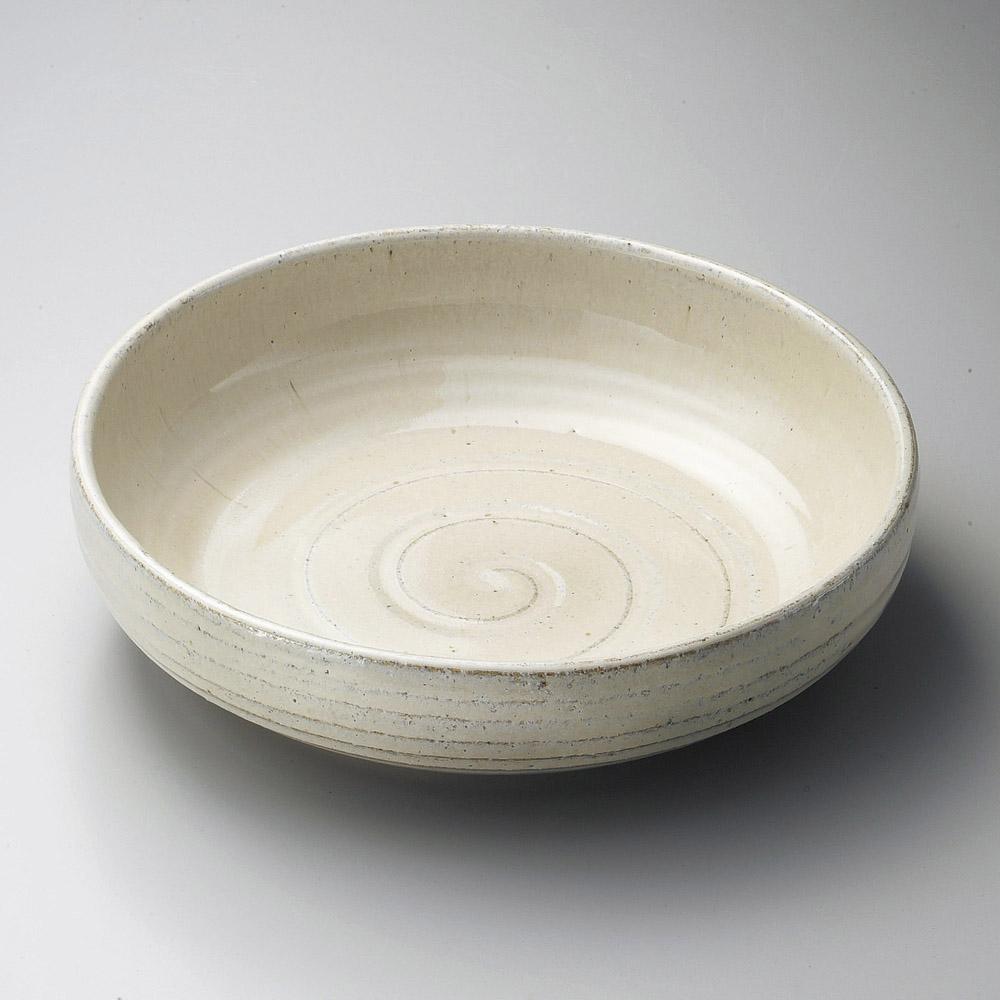 33cm 白陽 尺大鉢 32.5cm×8.5cm日本製 お惣菜の盛り合わせ 炊きもの 煮物 おばんざいの盛り付けに大振りの深鉢 特大サイズ大皿 大鉢 盛り皿 深皿 煮物鉢 業務価格で