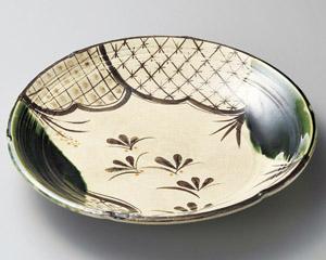 31cm 七宝おりべ 丸大皿日本製 さしみ お惣菜 おばんざいの盛り合わせ 宴会 おもてなしの盛り付けに大振りのお皿