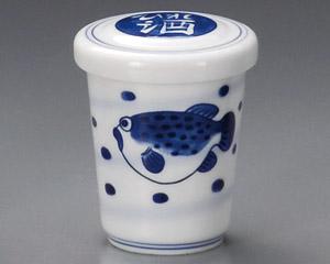 日本製 公式ショップ ヒレ酒 が問屋価格 期間限定お試し価格 大特価で 渦ふぐ 150ccひれ酒フグの炙りヒレ プレゼント 家呑みに 贈り物に 美濃焼毎日の晩酌 さかなの焼鰭の旨味と香りを閉じ込める絶品やみつきの熱燗日本酒をより一層おいしく楽しむ蓋付容器日本製