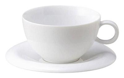 ホテル レストラン ウェアーが ブランド品 問屋価格で アルテ 洗練されたデザイン 信用 ティーカップソーサー特白磁シンプル おしゃれな白い食器 240cc