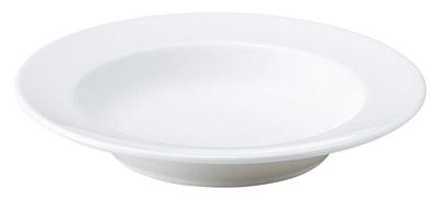 ホテル レストラン バール 食器が 問屋価格で プリート 24cm 冷麺 カフェ トラットリア向きの厚手で丈夫な業務用食器日本製 スープ NEW ARRIVAL 皿 35%OFF 特白磁